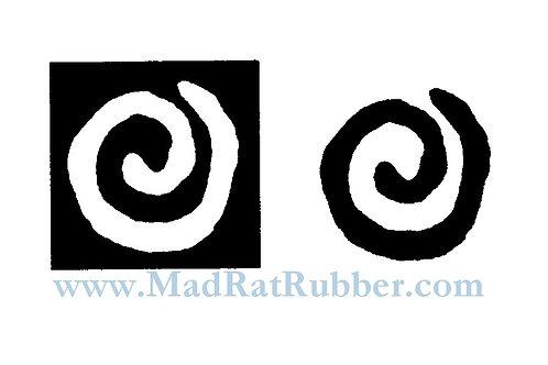 M18 Positive & Negative Spiral Set