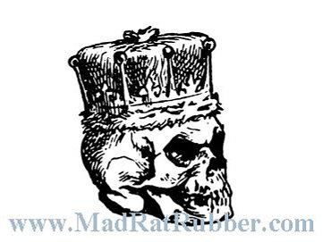 V649 Skull with Crown