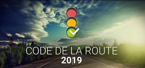 image code de la route 2019
