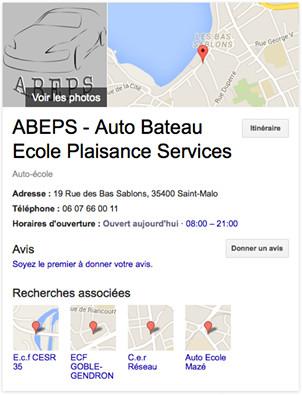 ABEPS - Auto Bateau École Plaisance Services à Saint-Malo
