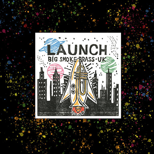 'Launch' EP - CD