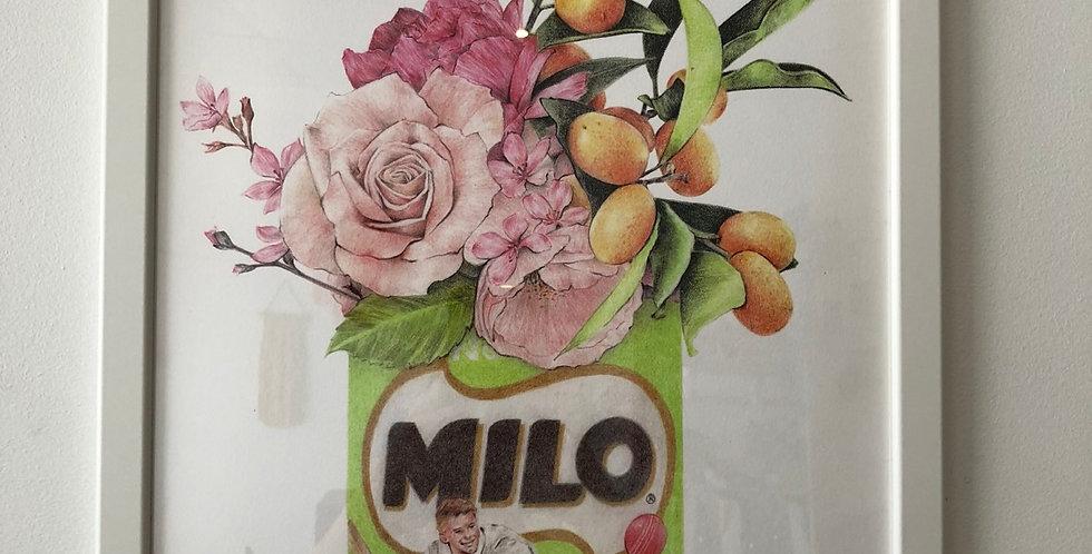Carmen Hui - large framed print (milo)