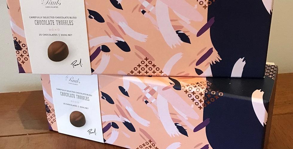 Paul's Chocolate Truffles boxed 300g