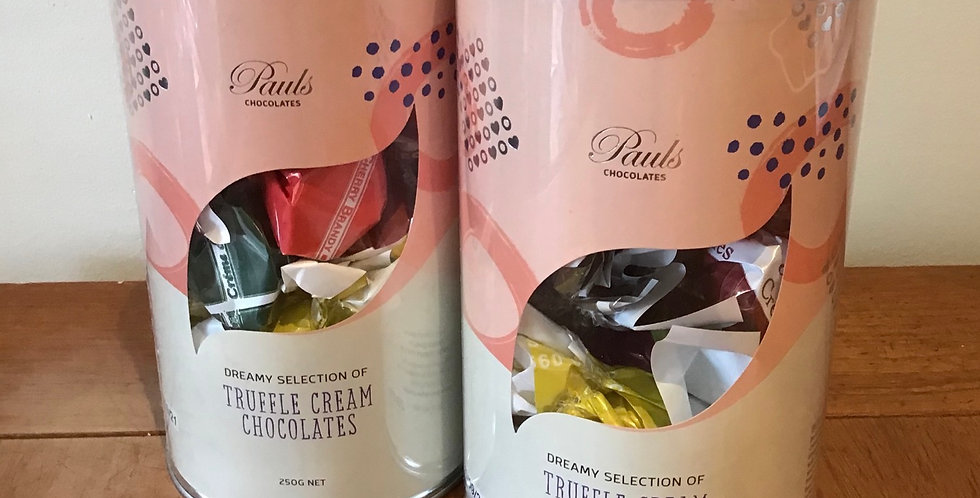 Paul's Chocolate Cream Truffles 250g