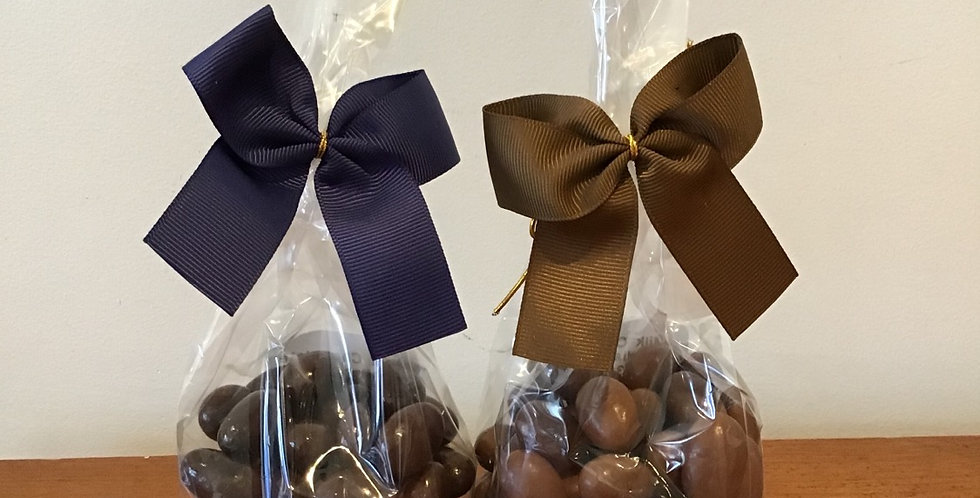 Paul's Chocolate Covered Scorched Almonds or Roasted Hazelnuts