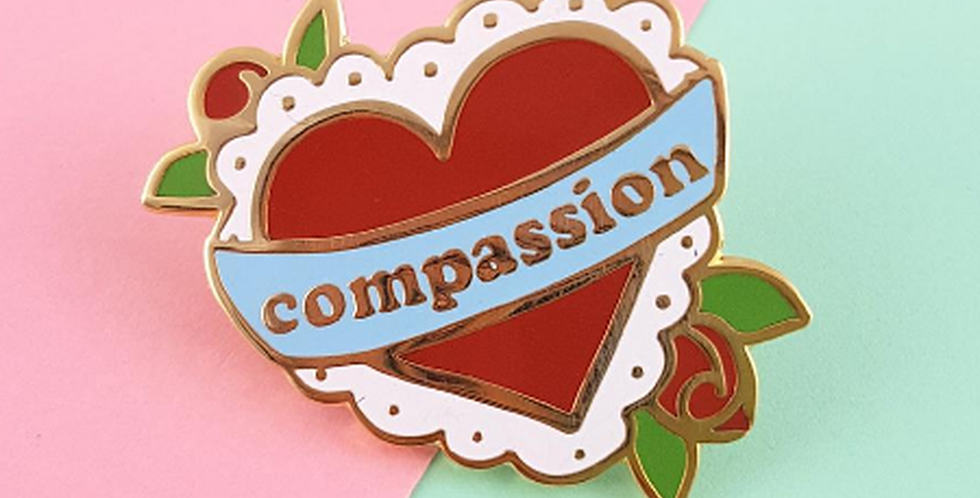 Jubly-Umph Compassion Lapel Pin
