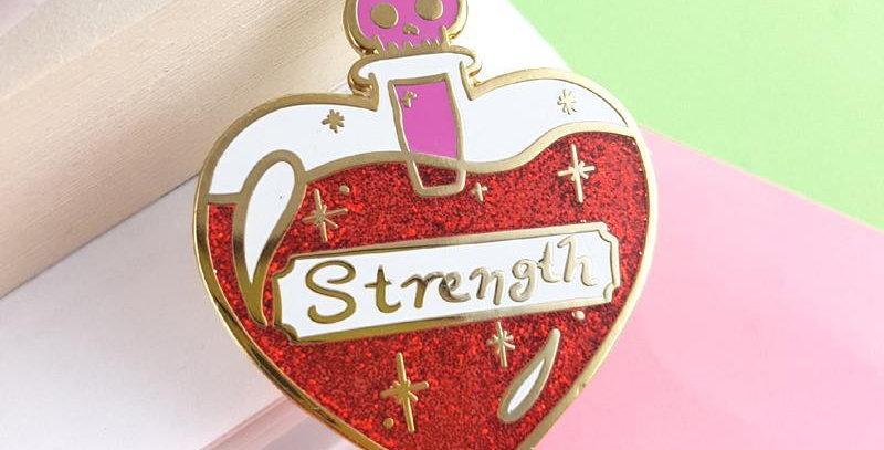 Jubly-Umph Strength Lapel Pin