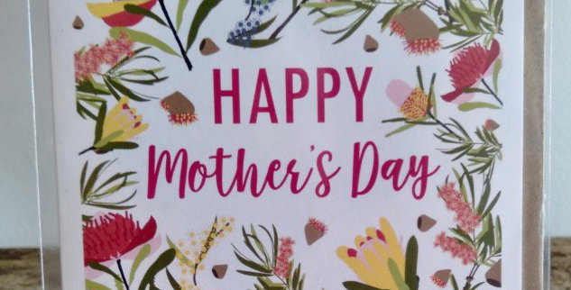 Mother's Day Card - Wildflowers