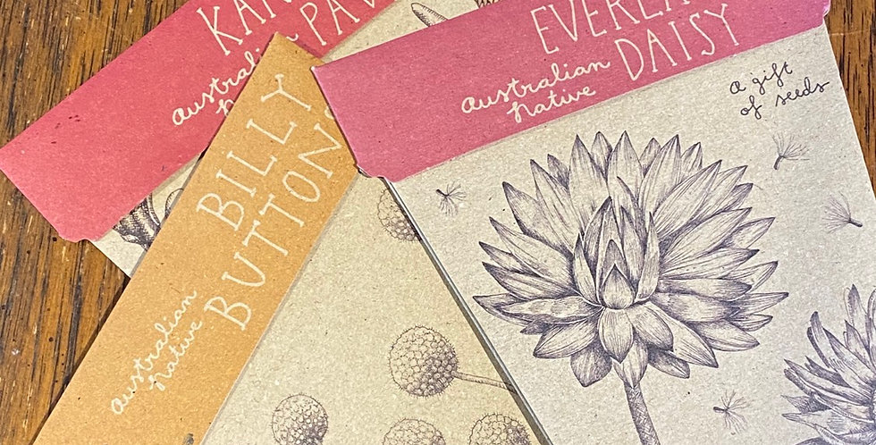 Sow and Sow Seed Packet with Notecard