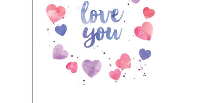 Candlebark Cards - I Love You