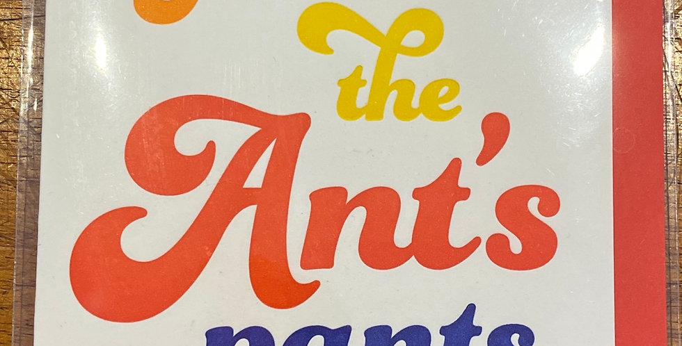 LPHP Ants Pants Card