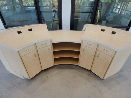 MacDill AFB millwork designed in RouterCAD software and cut on a BOSS Router by Elegance by Design.
