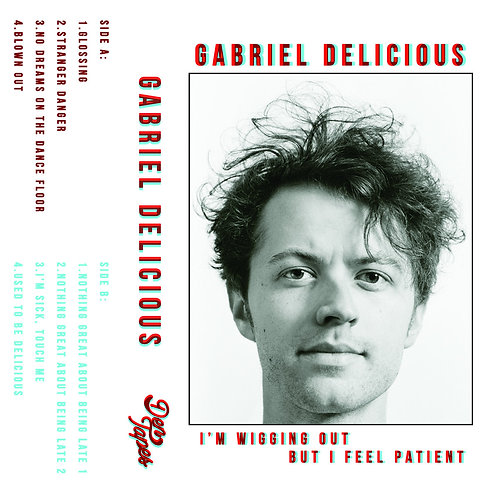 Gabriel Delicious - I'm Wigging Out But I Feel Patient Cassette