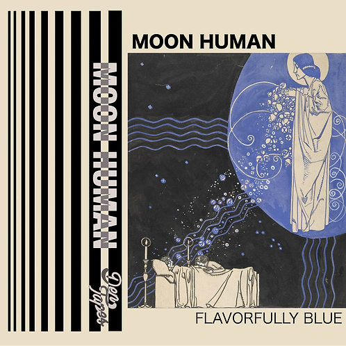 Moon Human - Flavorfully Blue Cassette