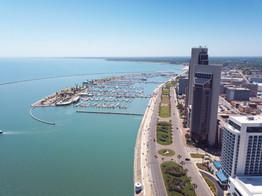 Marina and Downtown Corpus Christi