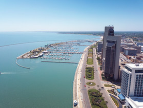 Marina and Downtown Corpus Christi