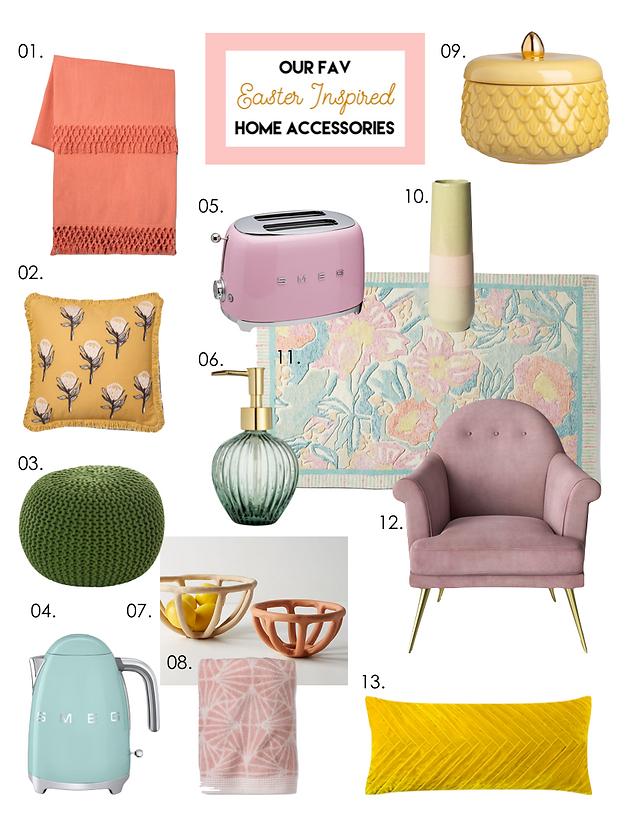Our Fav Easter Inspired Home Accessories | Interior Designer | 2053 ...