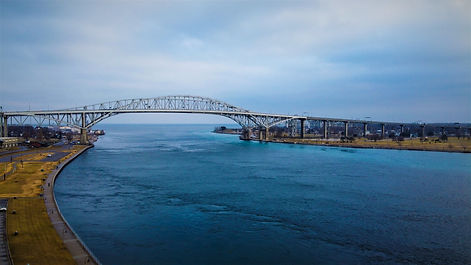 Blue Water Bridge-Drone Services 360
