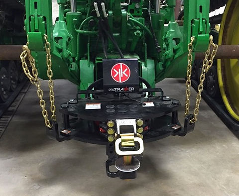 ProTrakker hydraulic hitch implement steering
