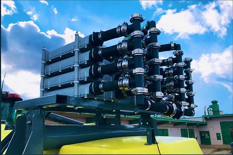 Maggrow mounted Manifold stack