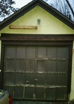 Garage Door - BEFORE