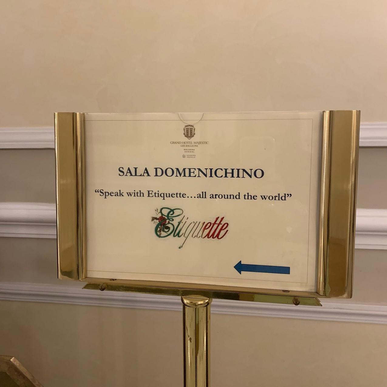 Etiquette Italy