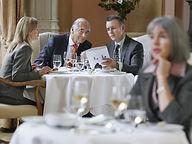 pranzo d'affari etiquette italy