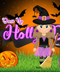 Holly Day: Halloween Edition