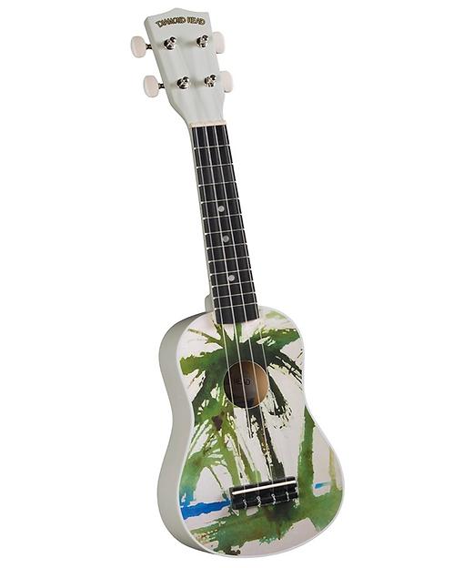 Diamond Head DU-132 Vintage Series Soprano Ukulele - Palm Tree