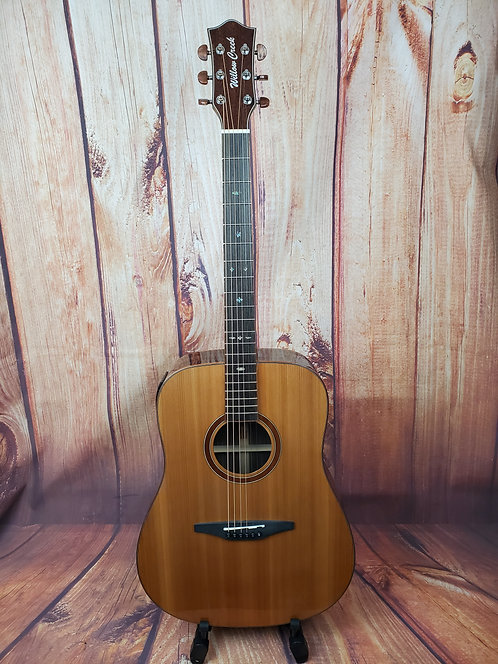 Willow Creek PC7ECE Acoustic-Electric Guitar