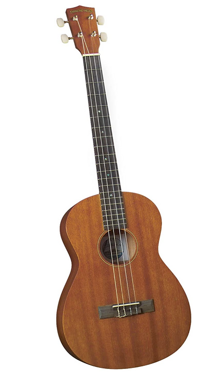 Diamond Head DU-200B Deluxe Natural Mahogany Baritone Ukulele