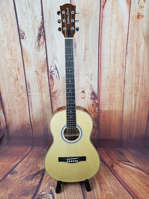 Willow Creek AP84 Parlor Acoustic Guitar