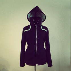 Riding jacket front