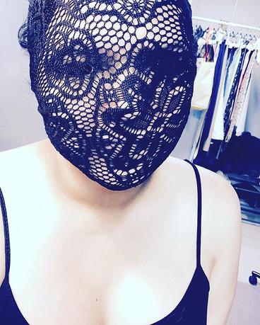 Playing with Lace #blackhair #southerneurope #moodboard #lace #balenciaga #spain #italian #france #portugal #fashion #art #noir #black