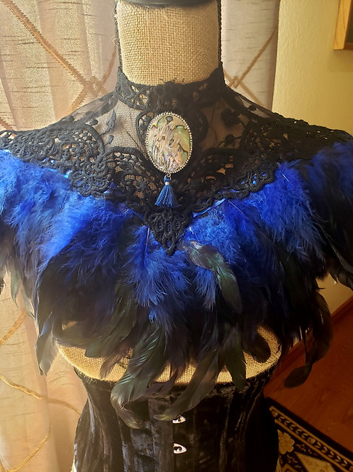 Handmade Feather Collar