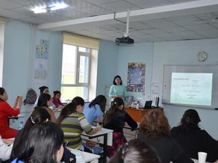 Training for Biology teachers