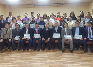 Teachers attended in professional  development program in Erlian City