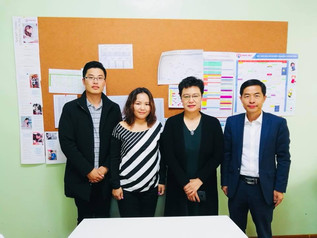 Delegates of Chinese Universities paid visit