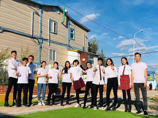 """High schoolers founded voluntary club """"Full Hearts"""""""