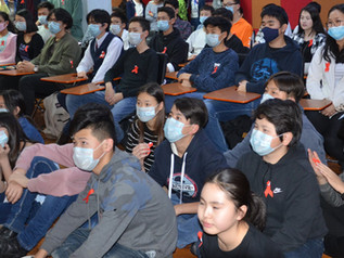 """1-MINUTE STANDING WITH MASK"" campaign was ran"