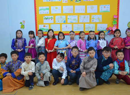 Mongolian Traditional Clothing Day