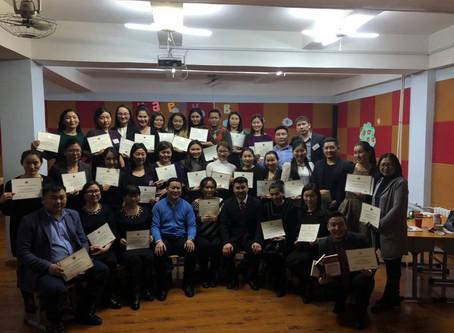 Teachers received Dale Carneige Course Certificate