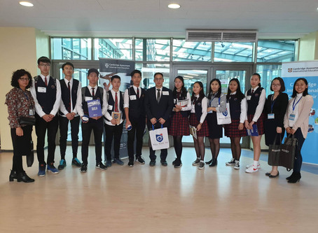 Students have participated in the first Cambridge International College Fair