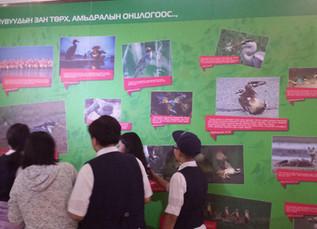 Монголын уран зургийн галлерейд зочиллоо