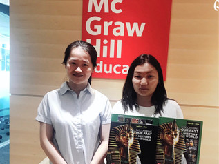 """6-8-р ангийн суралцагчид Америкийн """"МС Grаw Hill education"""" компаний дэлхийн түүхийг судал"""