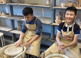 A Visit to the Ceramic Art Studio