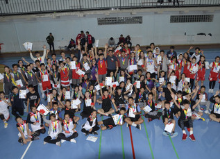 The school's basketball tournament was held