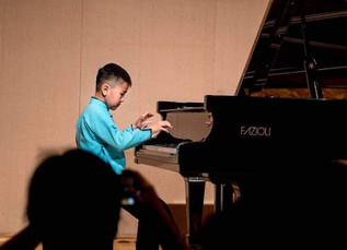B.Ariunbat won first place at the 2019 KIMA International Music Piano Competition