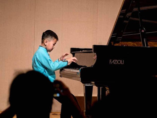 B.Ariunbat won first place at the 2019 KIMA International Music Piano Competition