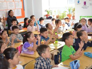 Pre-school program for school introduction has been completed